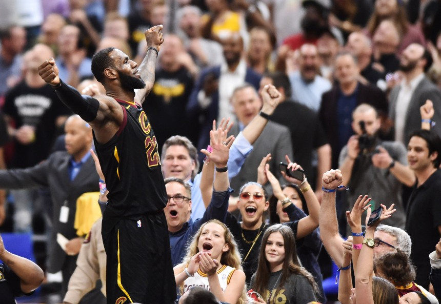 USP NBA: PLAYOFFS-TORONTO RAPTORS AT CLEVELAND CAV S BKN CLE TOR USA OH