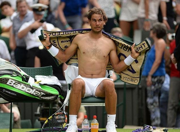 Nadal topless